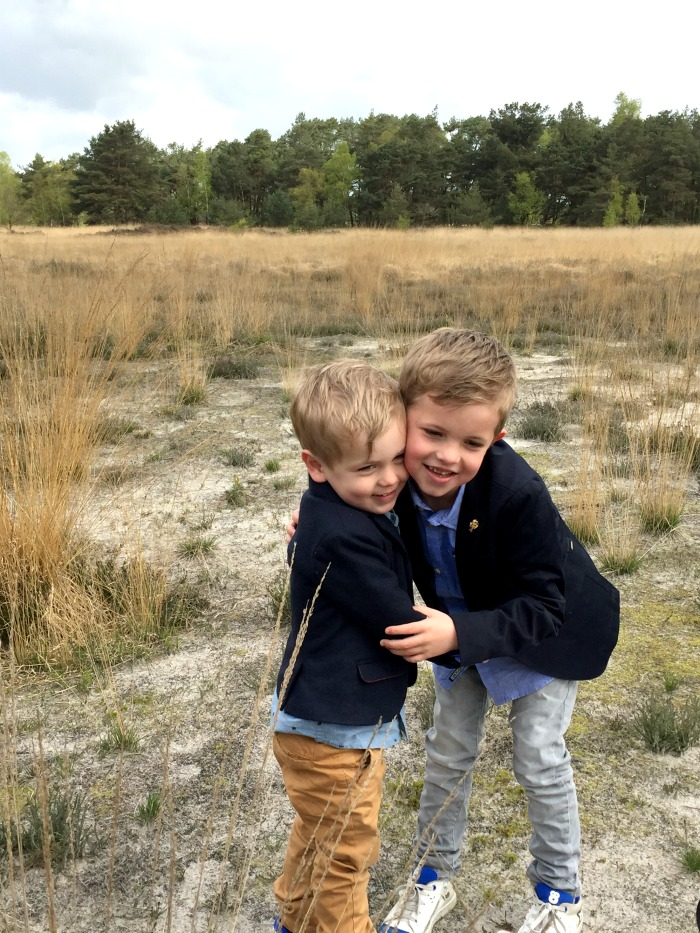 Jules and Louis Blog - On Being a Mother - two brothers hugging.jpg