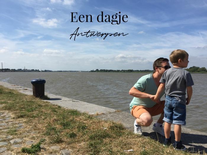 Jules and Louis Blog - Een dagje Antwerpen - Schelde