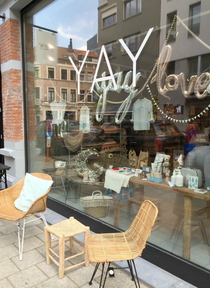 Jules and Louis Blog - Een dagje Antwerpen - Yay concept store