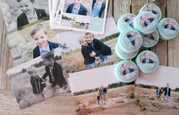 Jules and Louis Blog - A weekend of celebrations - favors