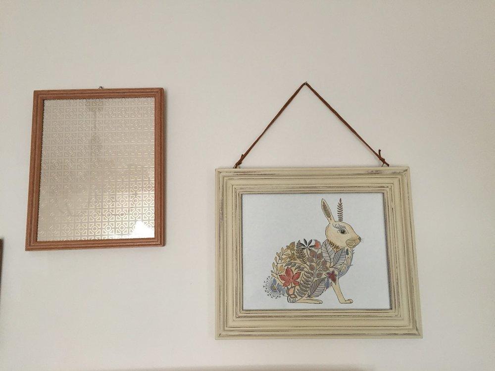 Malowany królik.