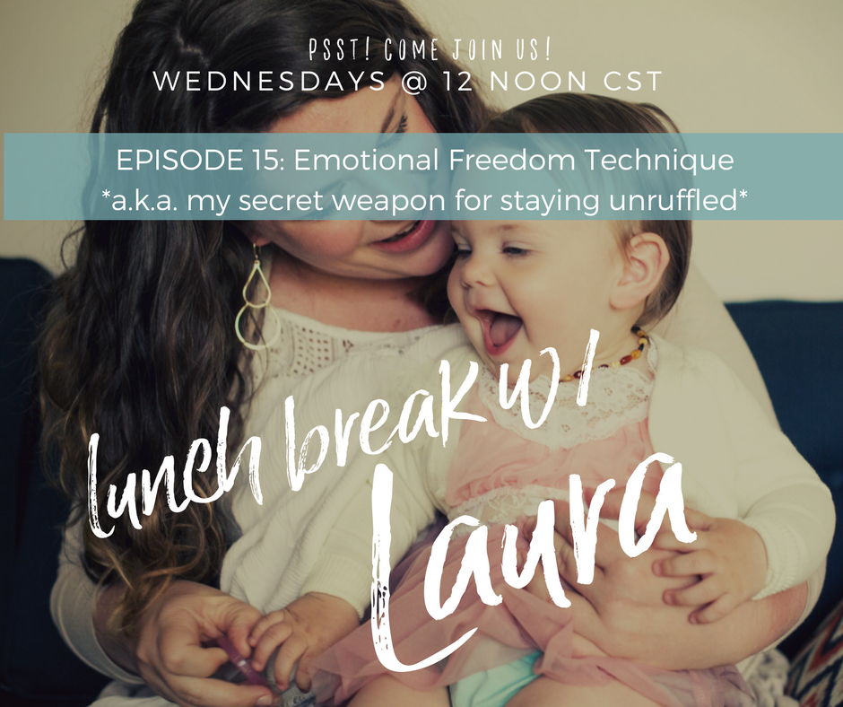 how to use the emotional freedom technique to release parenting stress