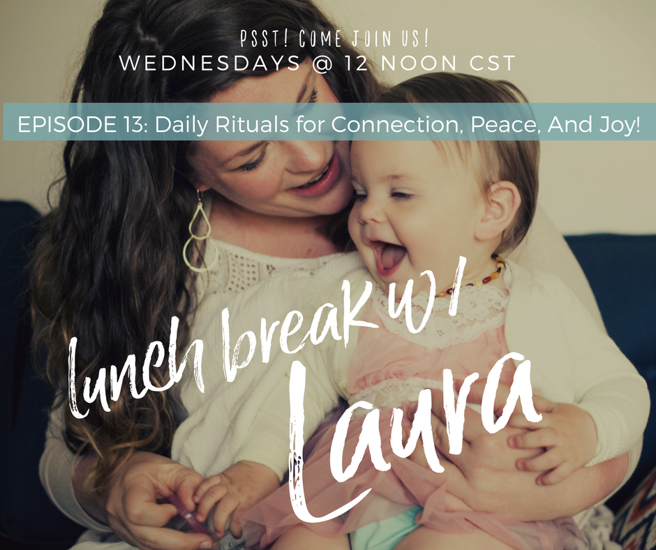 developing parent child connection with daily rituals