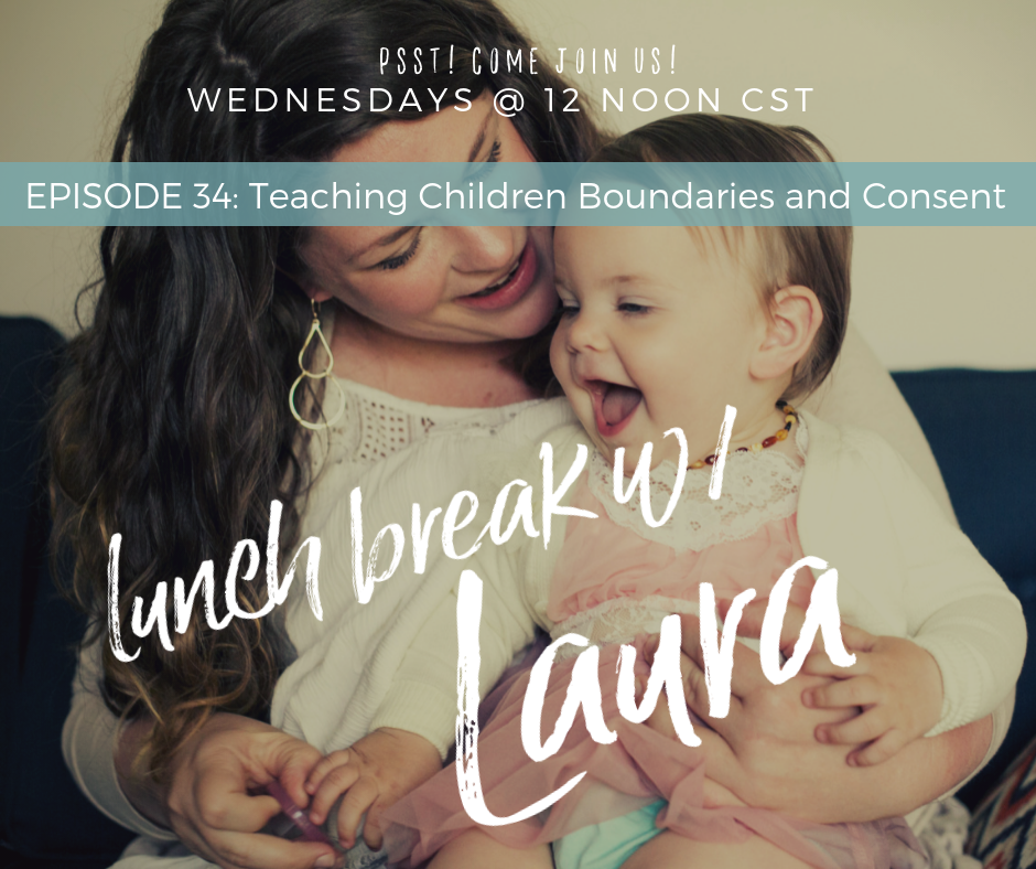 Teaching Children Boundaries and Consent