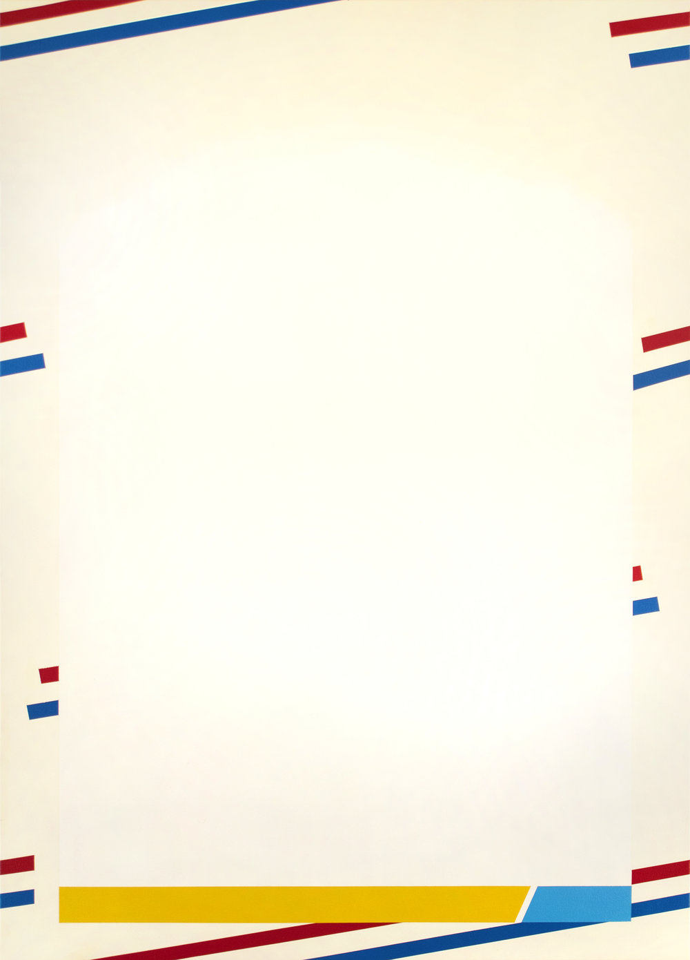 "Fleer '88  Acrylic on Canvas 50"" x 36"" 2016"