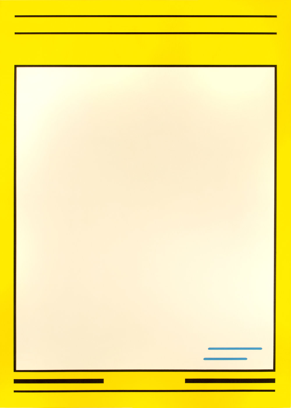 "Fleer '91  Acrylic on Canvas 50"" x 36"" 2016"