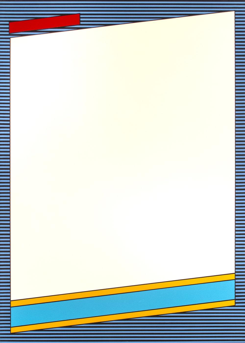 """Donruss '86  Acrylic on Canvas 50"""" x 36"""" 2016"""