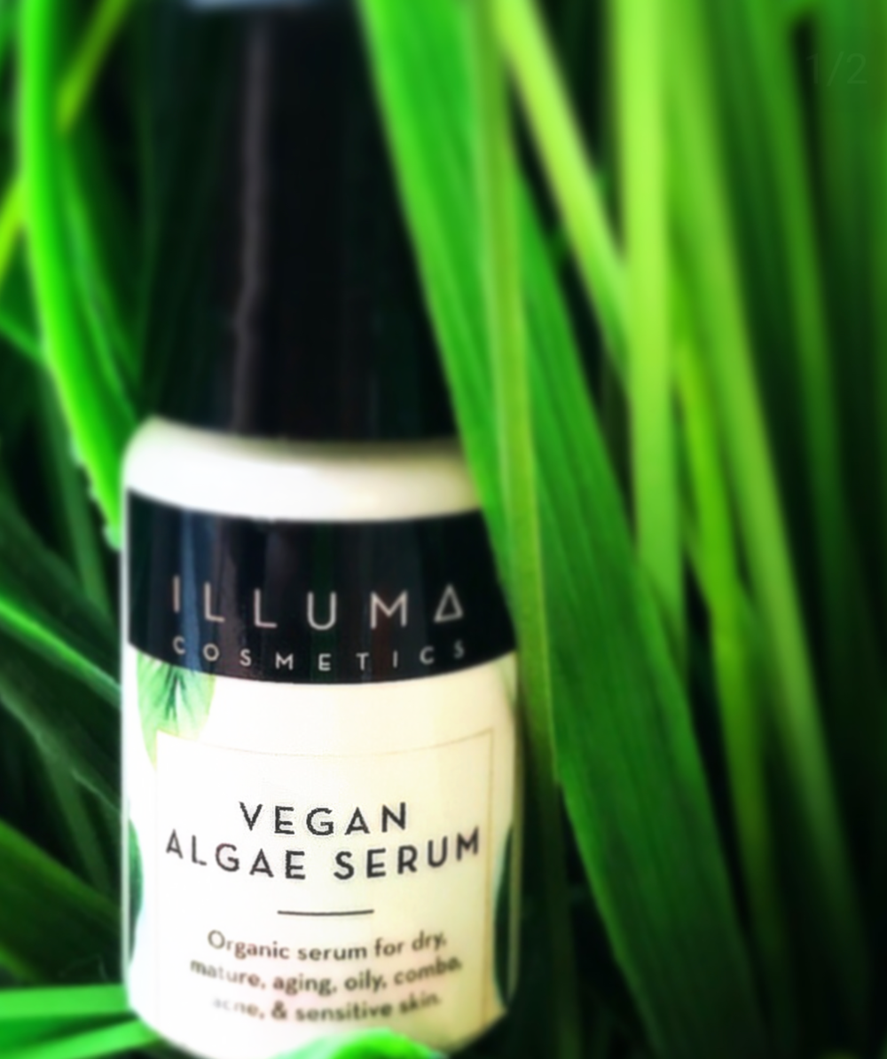 Algae Serum photo credit:  Vegan Treasure Hunter