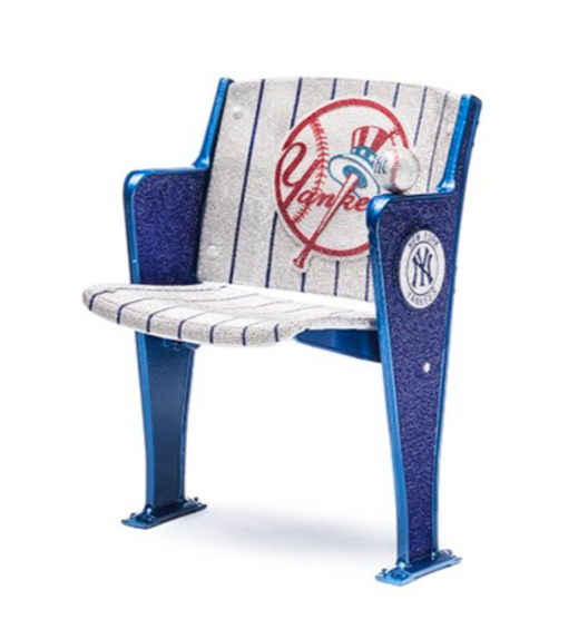 City Seats Connects Acclaimed Artists with Vintage NY Yankee Stadium seats for Auction -  PR Newswire