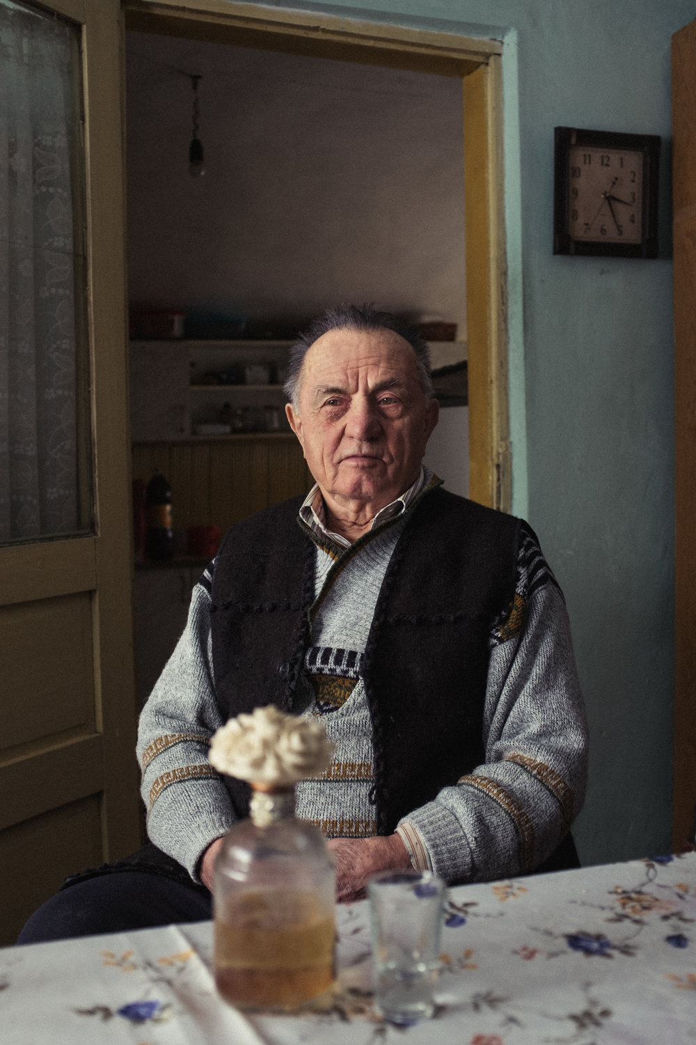 Grandad at 83, Romania, 2016