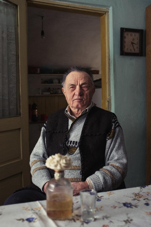 Grandad at 83, Romania, 2016