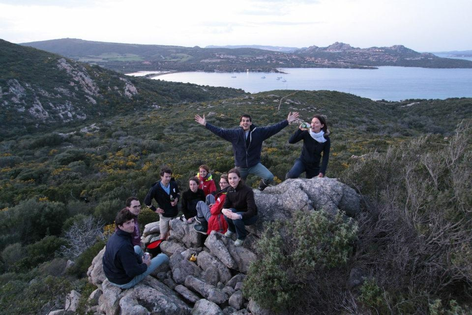 Nice hike before dinner after anchoring in one of the many stunning bays in Sardinia