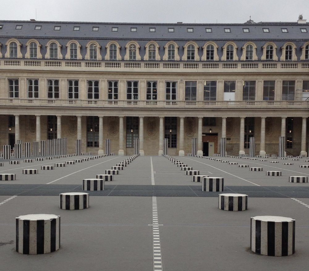 JARDIN DU PALAIS ROYAL ARCHITECTURE, PARIS