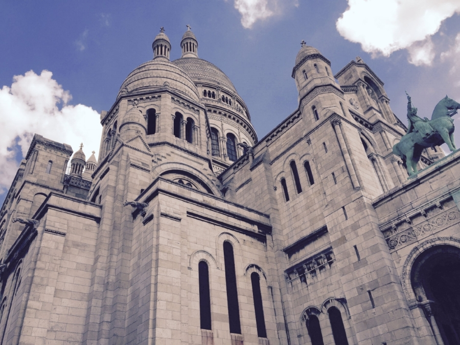 sacre coeur towers