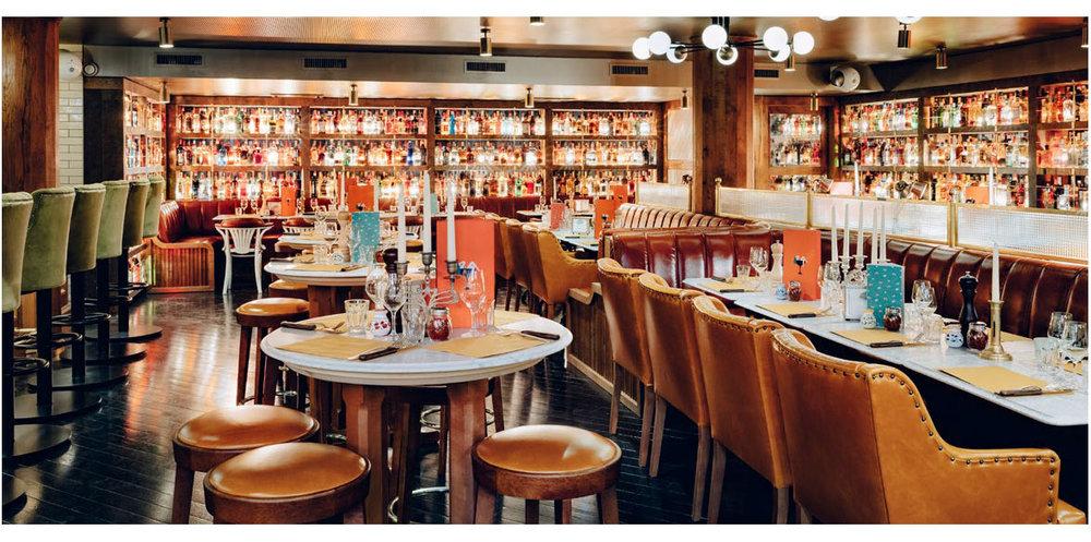 popolare restaurant interior, paris