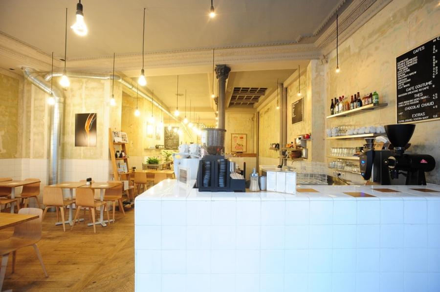 cafe coutume interior, Paris