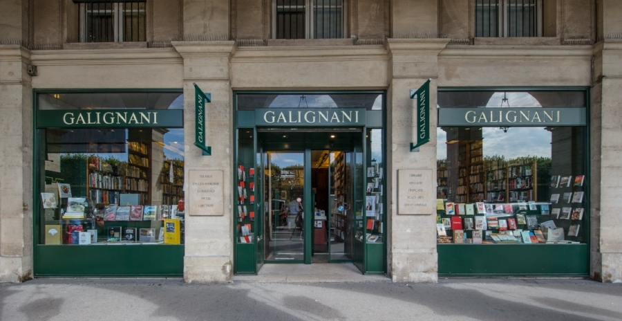 Librairie GALIGNANI. Paris. 09/2016 © david atlan