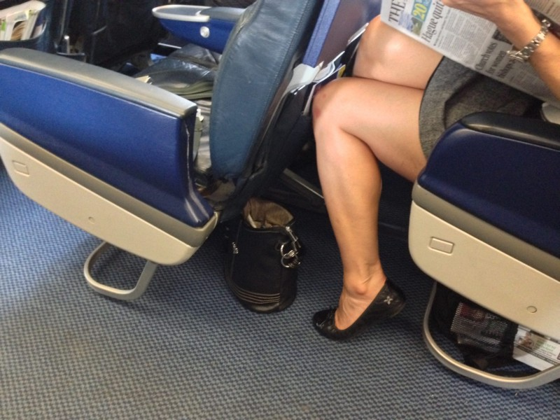 British Airways leg space