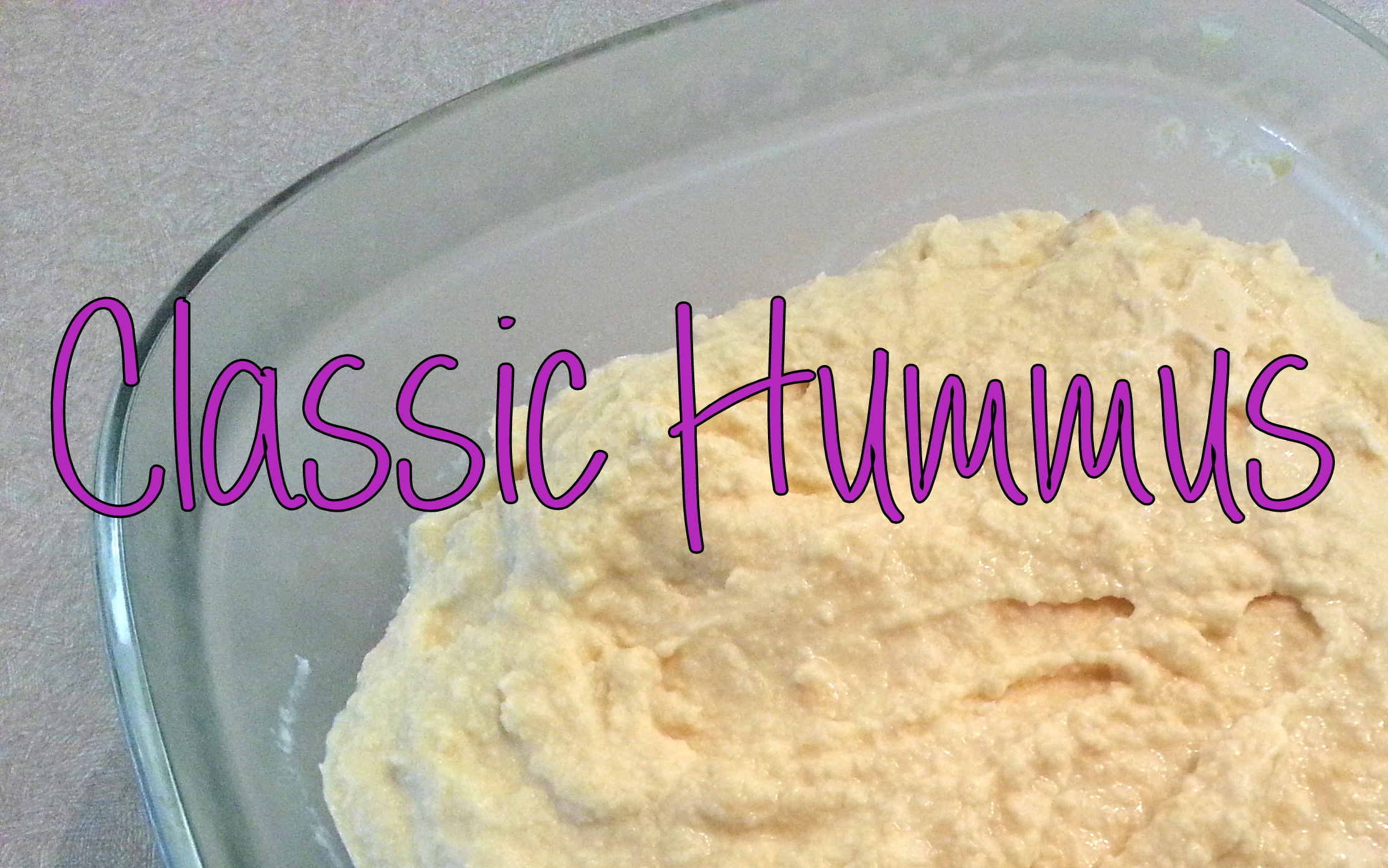 Classic Hummus Recipe