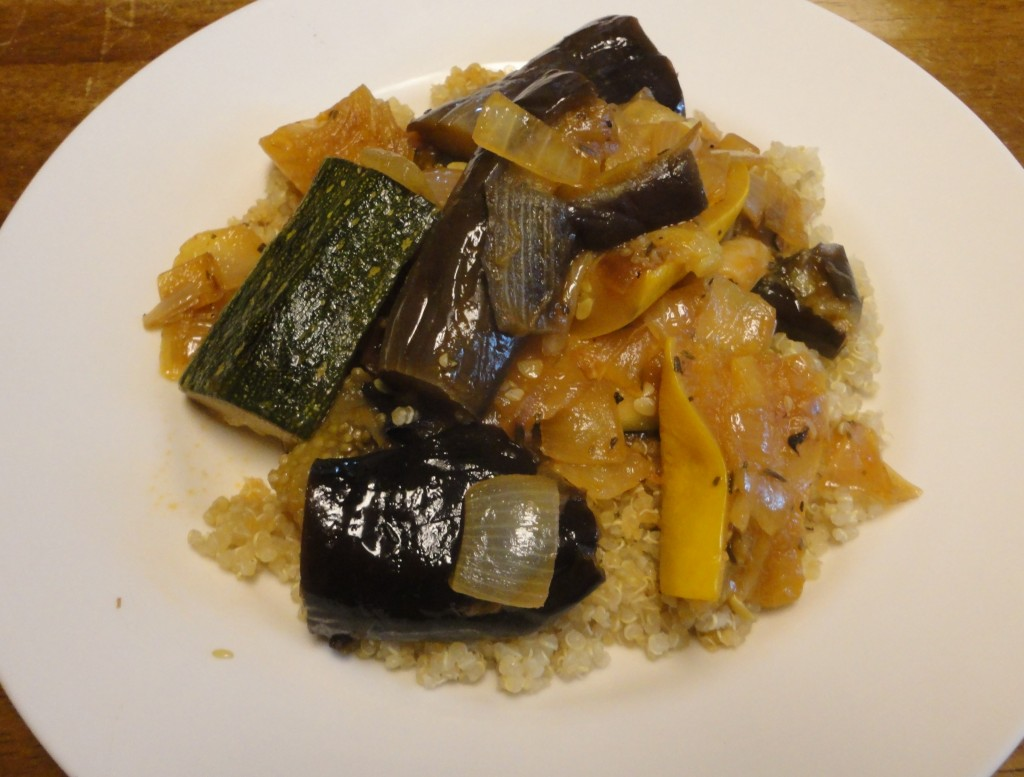 Vegetable Stew Over Quinoa