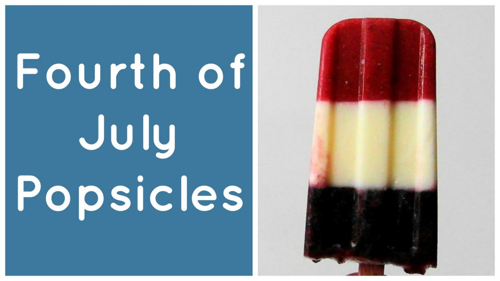 Red White Blue Popsicles