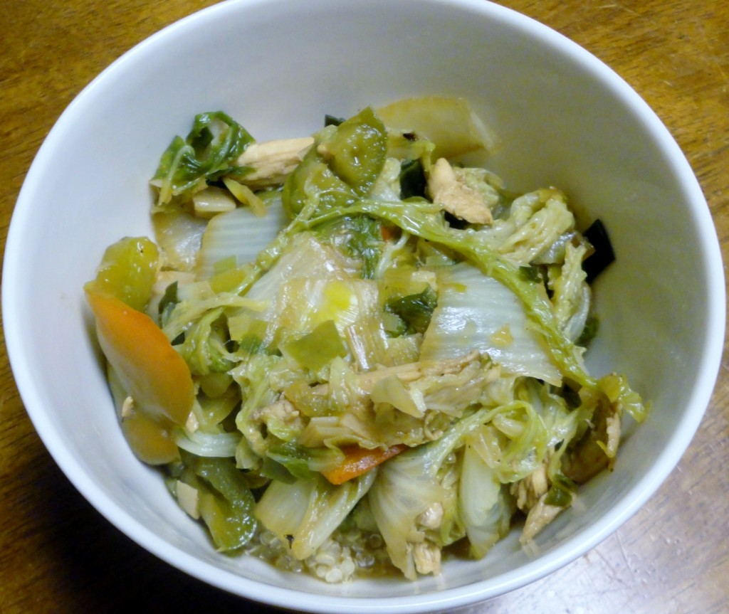 Summer Vegetable Chicken Stir Fry