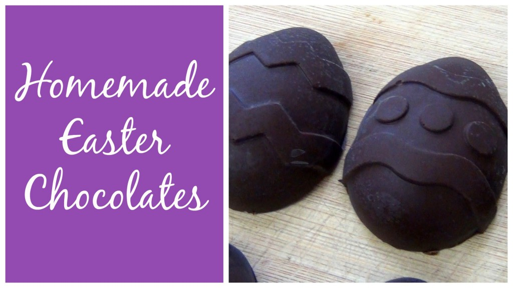 Homemade Easter Chocolates