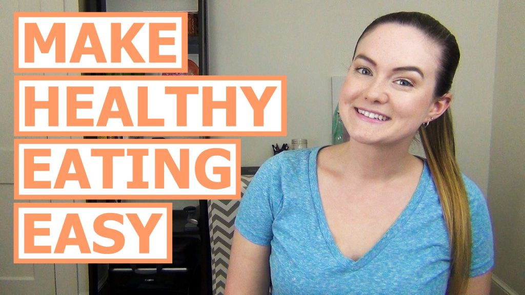 Most of us want to eat healthier, but that doesn't mean it happens. Eating healthier can be tricky! Here my top 3 tips to make eating healthy eating!