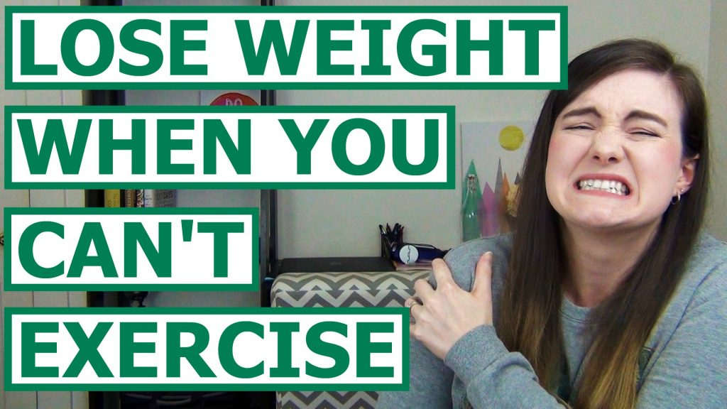 Losing weight can be tough, but it gets even more difficult when you can't exercise. Whether you're working through an injury or you're dealing with something long term, it's still possible to lose weight. Here are 8 tips to lose weight when you can't exercise.