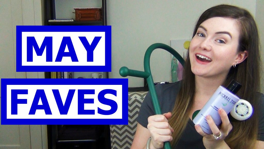 May is almost over so that means it's time to talk favorites!