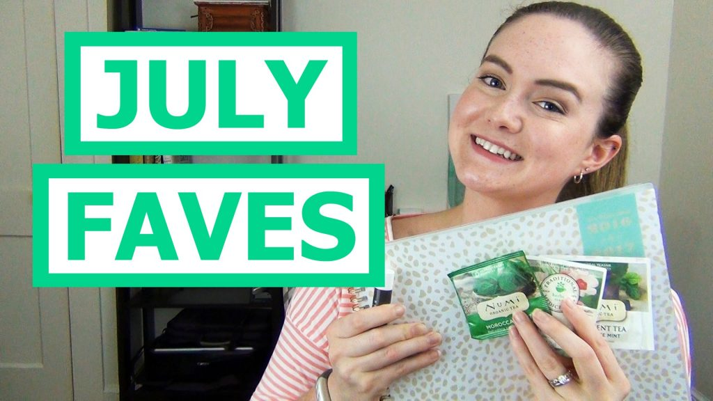 July is coming to an end so that means it's time to talk favorites!