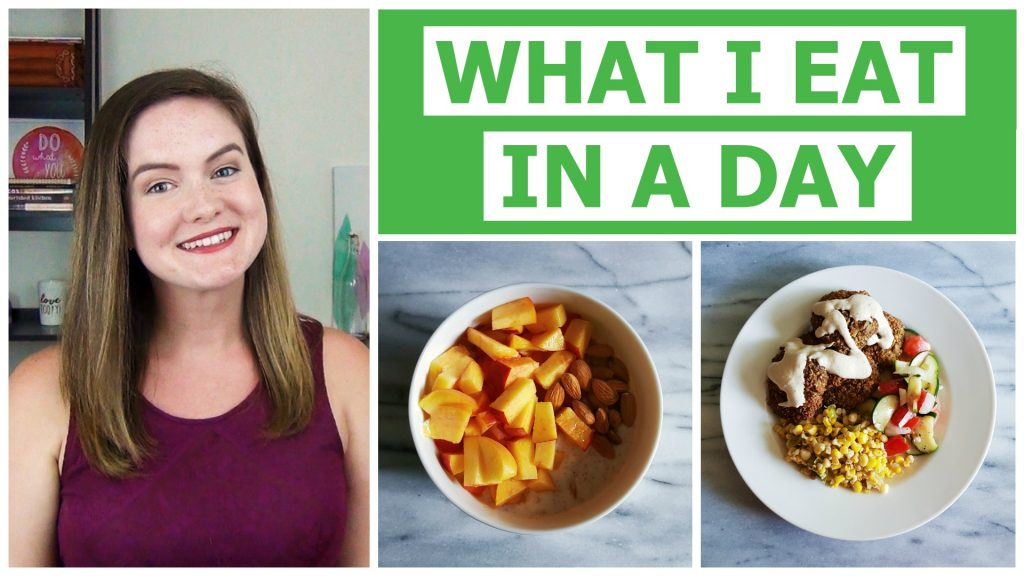 A look at what a dietitian eats in a day in the summer!