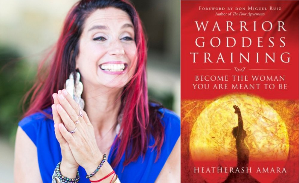 Heatherash Amara Best-Selling Author, Warrior Goddess Training