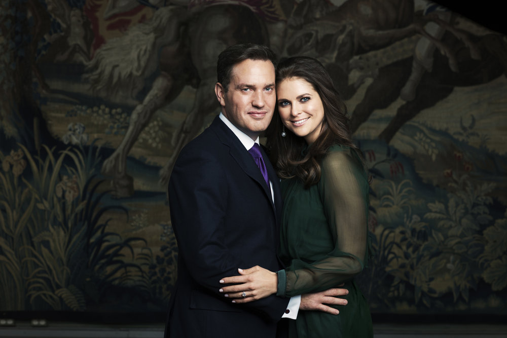 H.R.H. Princess Madeleine and Mr Christopher O'Neill Photo: Ewa-Marie Rundquist/Royal Court, Sweden