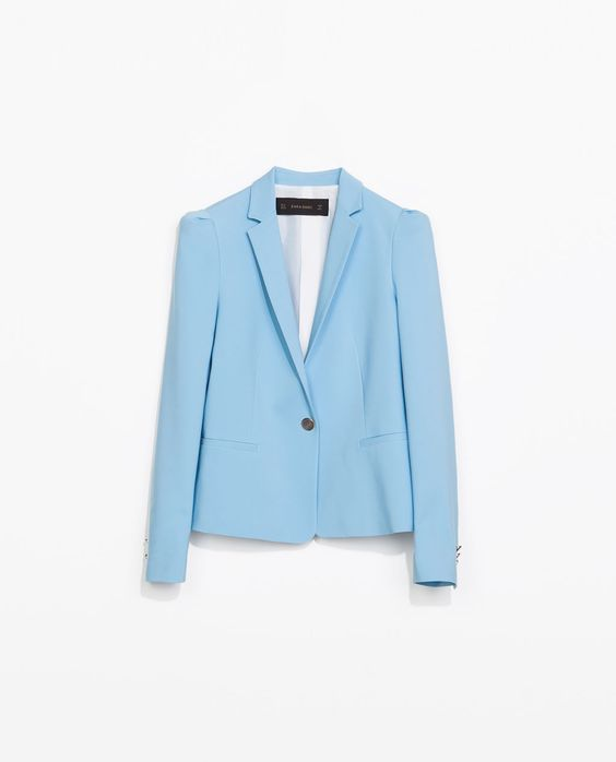Zara Blazer with Gathered Shoulders.jpg