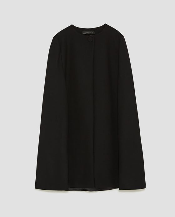 Photo Via Zara: https://www.zara.com/us/en/long-cloth-cape-p08091744.html