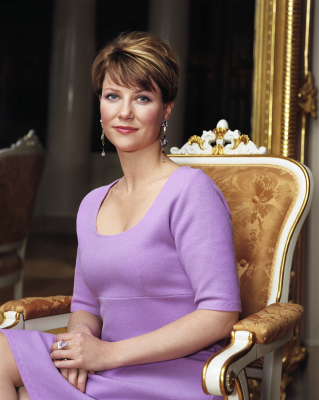 Princess Märtha Louise - Märtha Louise was born to Crown Prince Harald and Crown Princess Sonja of Norway in Oslo on September 22, 1971. She has a younger brother, Crown Prince Haakon.She is a certified physiotherapist and author. Märtha Louise married author, Ari Behn on May 24, 2002. They had three daughters: Maud, Leah, and Emma. The couple announced their separation in August 2016 - the first in the Norwegian Royal Family in modern history.(Photo: Cathrine Wessel, The Royal Court)