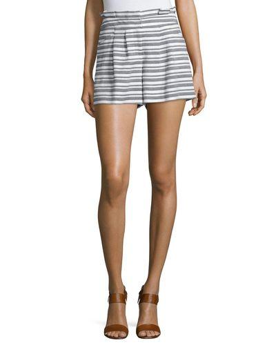 veronica-beard-BLACKWHITE-Wynwood-Striped-High-waist-Shorts.jpg