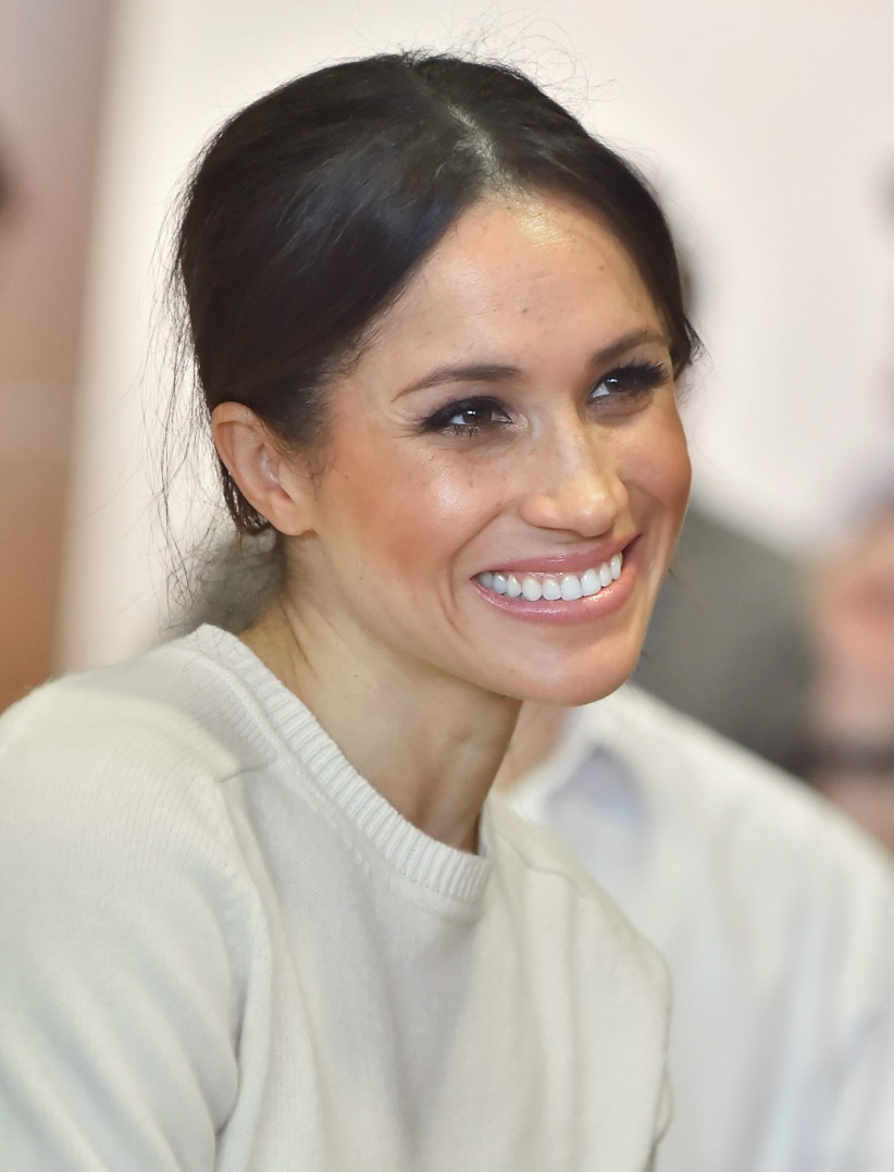 Duchess of Sussex - Rachel Meghan Markle, born in Los Angeles, California, on August 4, 1981, to Thomas Markle and Doria Ragland. She would attend private schools before attending Northwestern University outside of Chicago during which time she interned at the US Embassy in Buenos Aires, Argentina. She graduated with a degree in International Relations and Theater. She traveled back to Hollywood and got her start in acting in small roles on General Hospital and Castle before getting her big break on USA Network drama Suits where she played Rachel Zane. She began dating Prince Harry in the summer of 2016, and they announced their engagement in November 2017. They wed on May 19 at St. George's Chapel at Windsor Castle and were named the Duke and Duchess of Sussex that morning.(Photo: Northern Ireland Office/Flickr)