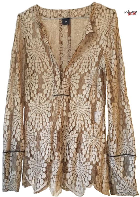 Heartmade Gold Lace Blouse.png