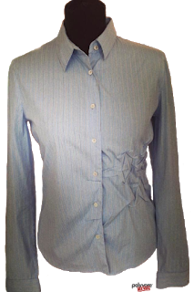 Prada Blue Pin Striped Shirt with Pick Ups.png