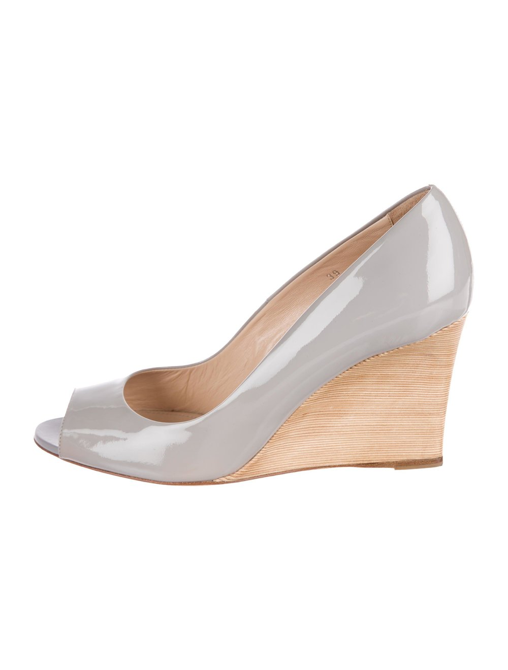 tods-Gray-Patent-Leather-Peep-toe-Wedges-Grey.jpeg