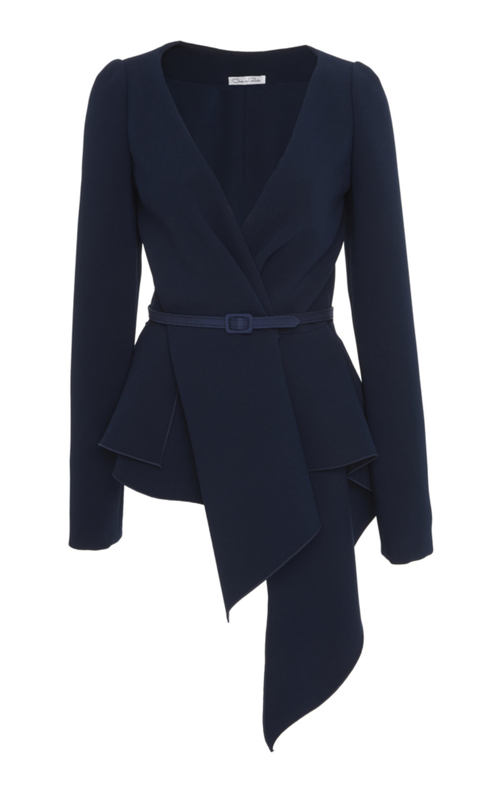 large_oscar-de-la-renta-navy-draped-blouse.jpg
