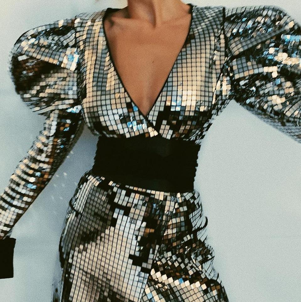 Bespoke Mirror fabric