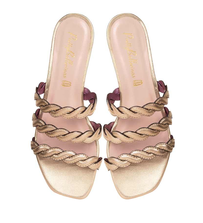 Pretty Ballerinas 3 stripe sandals MO.jpg