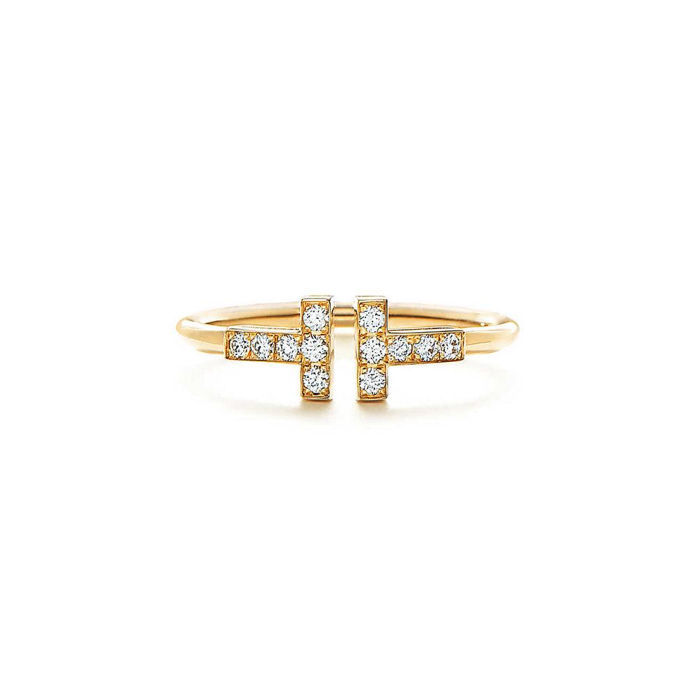 Tiffany T gold diamond ring MO.jpg