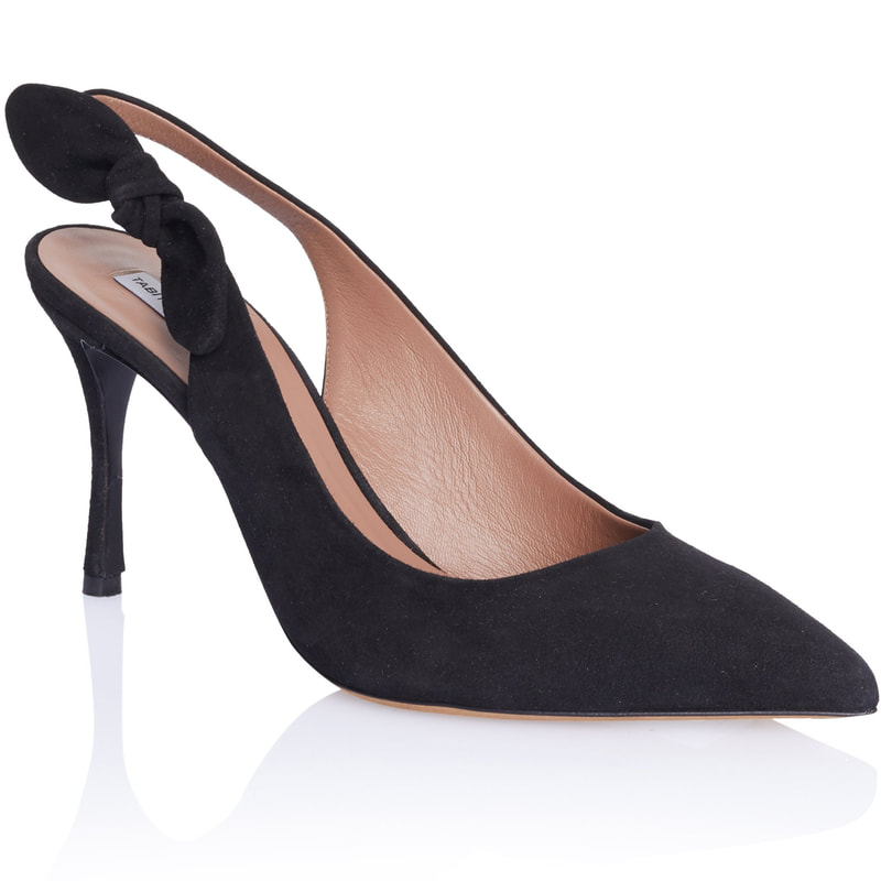 bd5441eb8 Tabitha Simmons Millie Slingback Pump in Black Suede — UFO No More