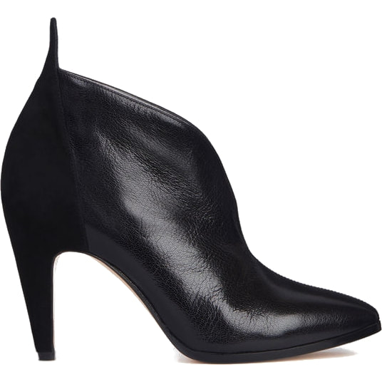 f3e9f951f Givenchy Black Ankle Boots in Leather & Suede — UFO No More