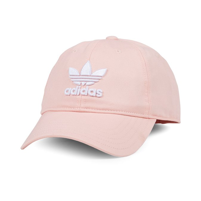 official photos official photos outlet store Adidas Trefoil Baseball Cap in Pink — UFO No More