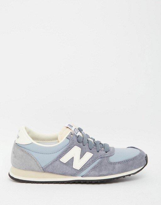 new balance blue trainers
